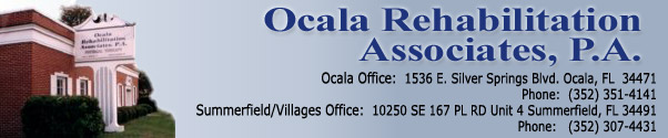 Ocala Rehabilitation Associates Physical and Occupational Therapy